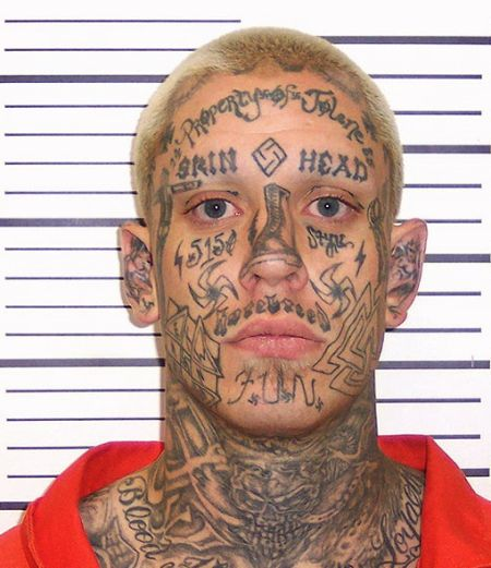 best mugshot tattoo photos
