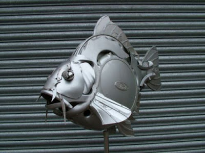 Auto Rims Sculptures