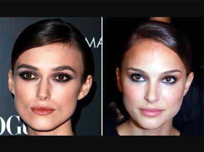 Keira Knightley Natalie Portman Comparison
