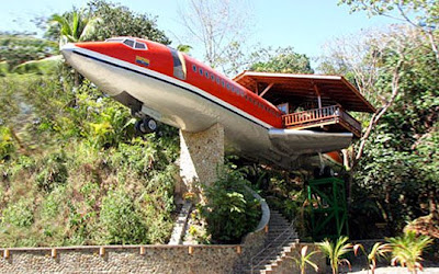 Costa Rican Airplane Hotel Images