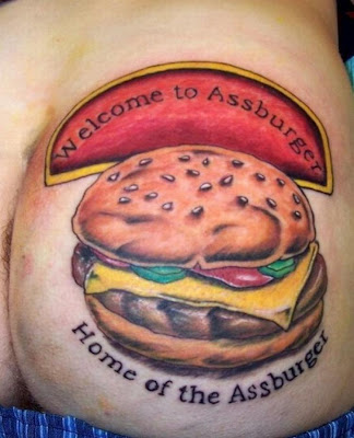 Fast Food Tattoos
