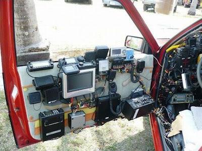 O carro radio ativo