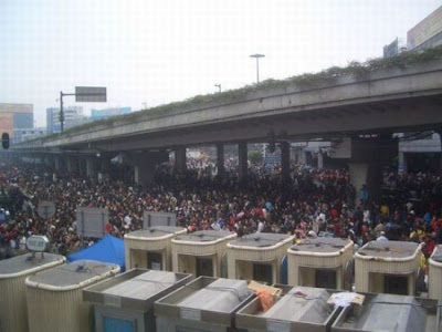 crowded train stations in china 02 Inilah Antrian Terpanjang di Dunia !
