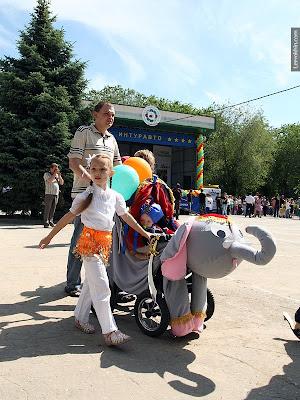 Baby stroller parade