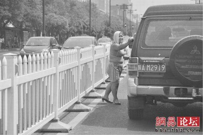 Foto] Preman Wanita di Cina