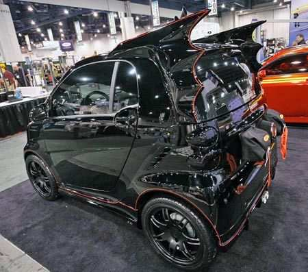 Batmobile Smart Car