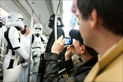 Star Wars On The New York Subway Seen On  www.coolpicturegallery.net