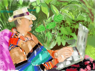 Beautiful Examples of iPad Finger Painting Seen On  www.coolpicturegallery.net