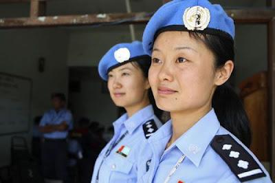 Pretty Policewoman