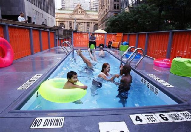 Dumpster Swimming Pools