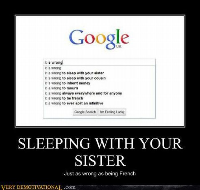 Funny Memes For Your Sister : Funny demotivational posters part damn cool pictures
