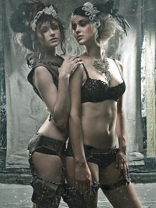 image Illusions of a lady lesbian scene