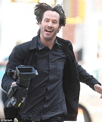 meme happy keanu