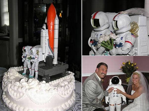 14 Weirdest Wedding Cakes