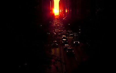 Manhattanhenge Miracle Seen On www.coolpicturegallery.us