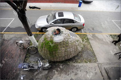 Chinese Designer Builds Sustainable Egg House Seen On  www.coolpicturegallery.us