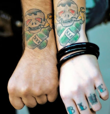 Matching Tattoos on Selection Of The Coolest Matching Tattoos