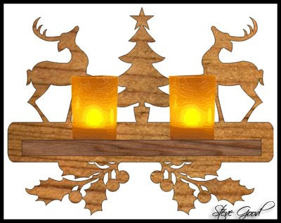 Scroll Saw Patterns :: Holidays :: Christmas :: Plaques