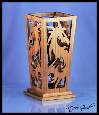 Scrollsaw Workshop Dragon Vase Scroll Saw Pattern And Challenge