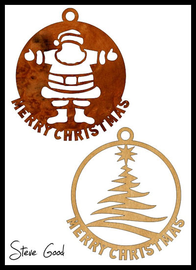 10 Christmas Ornaments Scroll Saw Patterns. - Scrollsaw Workshop: 10 Christmas Ornaments Scroll Saw Patterns.