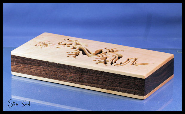 Scrollsaw Workshop Tribal Dragon Jewelry Box Scroll Saw Pattern