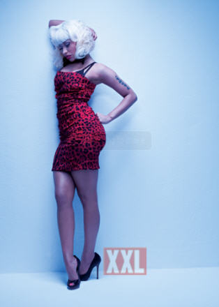 NICKI MINAJ XXL PHOTOSHOOT. PICTURES OF NICKI MINAJ XXL PHOTOSHOOT