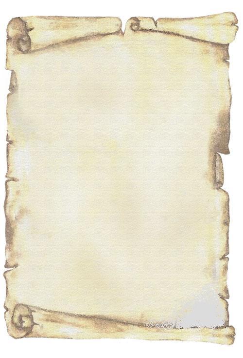 Dibujos de pergaminos para caratulas - Imagui