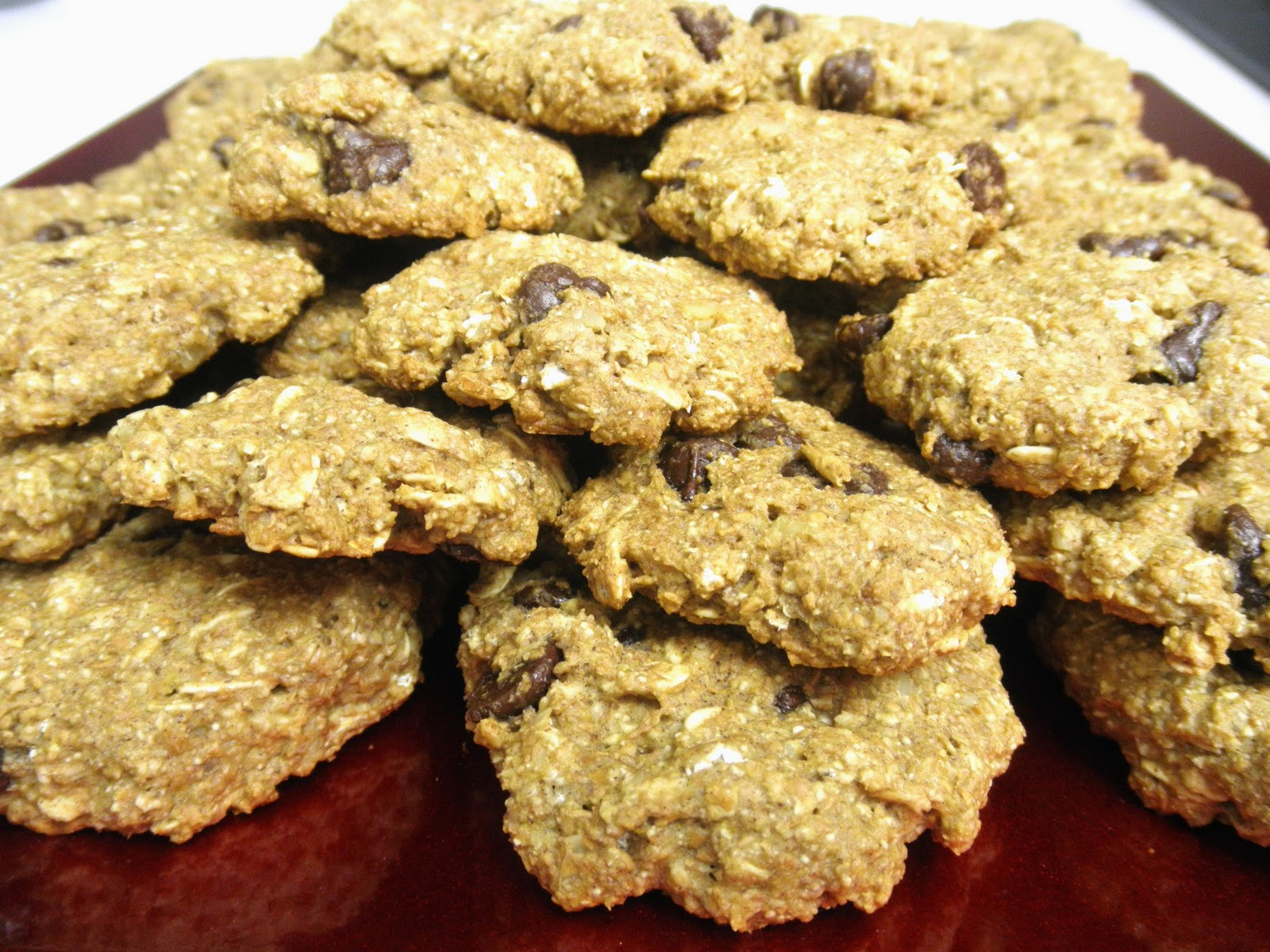 3 grams of fiber low fat chocolate chip oatmeal cookies for Low fat chocolate biscuits