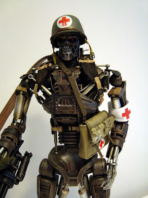 T 400 Terminator Little Plastic Man: Hot Toys T-600 Terminator: Salvation