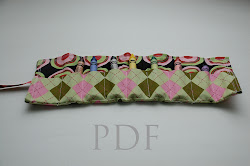 Crayon Roll Sewing Pattern