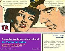 Presentación de la revista cultural En tierra de todos en Oaxaca, Oax. Abril - 2009