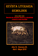 Mi publicación en el nº 43 de la Revista Literaria Remolinos