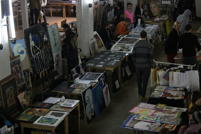 Student art fair 2010
