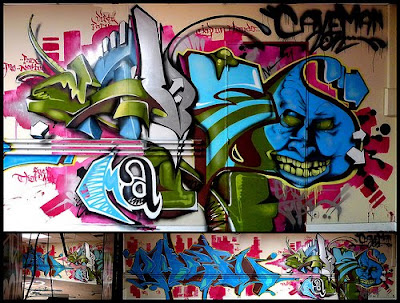 graffiti art, 3D letters