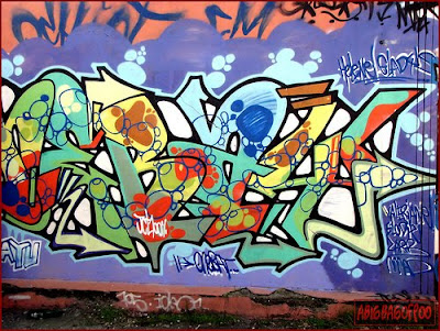 cool art, graffiti letters