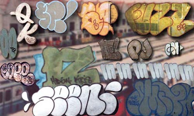 graffiti, bubble letters, graffiti bubble letters