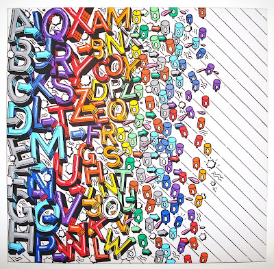 High Qualtiy Graffiti Alphabet