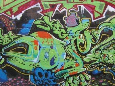 graffiti alphabet, bubble graffiti alphabet