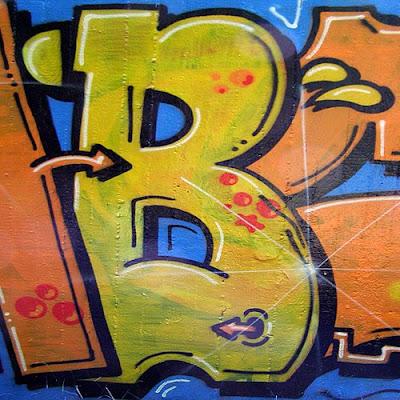art letter B #1