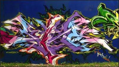 graffiti alphabet murals 04