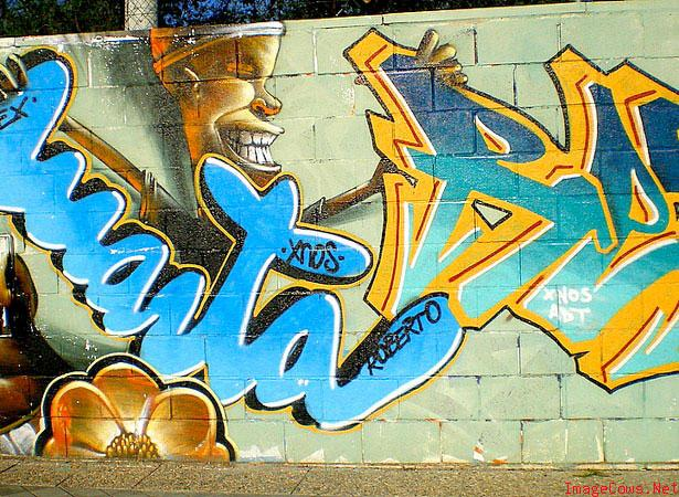 Arrow Graffiti Style Lighting
