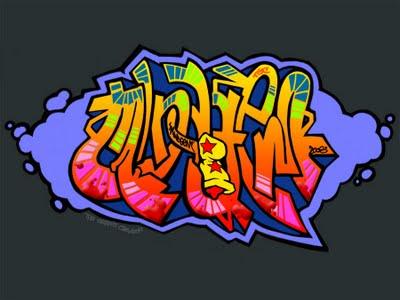 alfabet in graffiti. Graffiti Bubble Alphabet 2010;