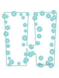 Printable Bubble Letters 2011-3