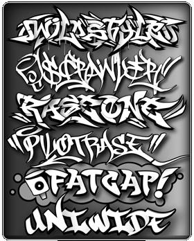 2Stencil Graffiti Alphabet Letters 2011