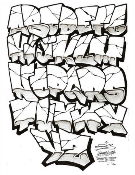 New Stylish Graffiti Wildstyle Graffiti Letters