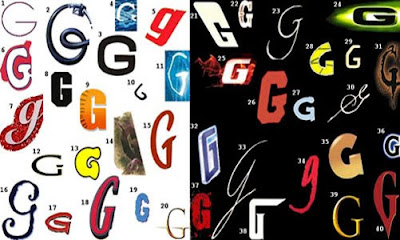 2Bubble Letters G In The Year 2011