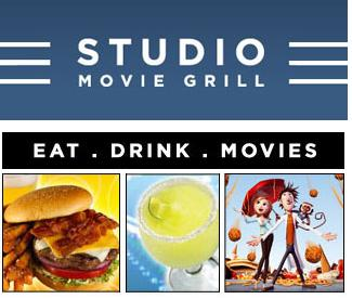 Get great discounts with a Studio Movie Grill promo code or coupon. 30 Studio Movie Grill coupons now on RetailMeNot. Up to $2 Off When You Purchase Over 2 Girls Trip Tickets + Free Food & Beverages Packages From Select Menu.