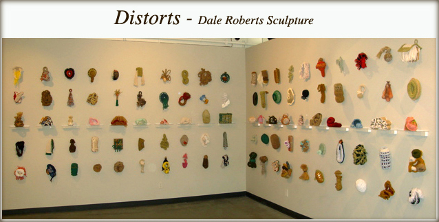 Distorts - Dale Roberts Sculpture