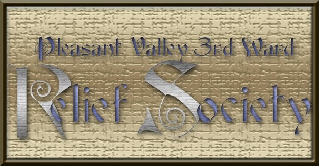 Pleasant Valley 3rd Ward Relief Society