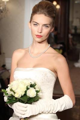 10 peinados de novia de famosas que querrás copiar el día de tu  - Peinados De Novias Famosas